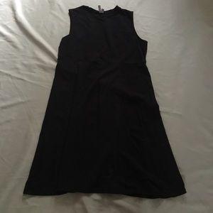 ASOS Little Black Dress 18 Knit Sleeveless